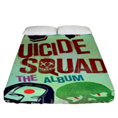 Panic! At The Disco Suicide Squad The Album Fitted Sheet (king Size) by Samandel