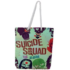 Panic! At The Disco Suicide Squad The Album Full Print Rope Handle Tote (large)
