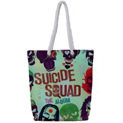 Panic! At The Disco Suicide Squad The Album Full Print Rope Handle Tote (small) by Samandel