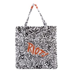 Paramore Is An American Rock Band Grocery Tote Bag by Samandel