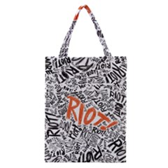 Paramore Is An American Rock Band Classic Tote Bag by Samandel