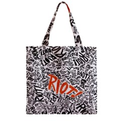 Paramore Is An American Rock Band Zipper Grocery Tote Bag by Samandel
