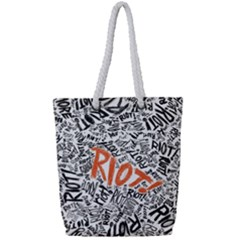 Paramore Is An American Rock Band Full Print Rope Handle Tote (small) by Samandel