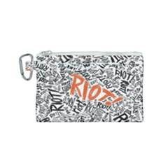 Paramore Is An American Rock Band Canvas Cosmetic Bag (small) by Samandel
