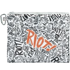Paramore Is An American Rock Band Canvas Cosmetic Bag (xxxl) by Samandel