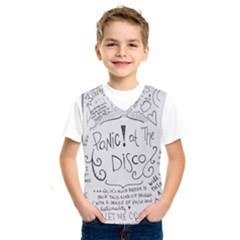 Panic! At The Disco Lyrics Kids  Sportswear by Samandel
