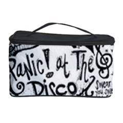 Panic! At The Disco Lyric Quotes Cosmetic Storage Case by Samandel