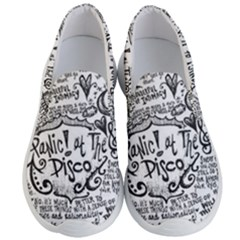 Panic! At The Disco Lyric Quotes Men s Lightweight Slip Ons