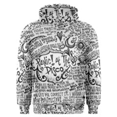Panic! At The Disco Lyric Quotes Men s Overhead Hoodie by Samandel