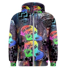 Panic! At The Disco Galaxy Nebula Men s Zipper Hoodie by Samandel