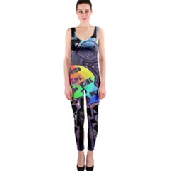 Panic! At The Disco Galaxy Nebula One Piece Catsuit by Samandel