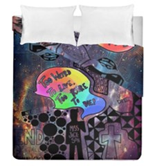 Panic! At The Disco Galaxy Nebula Duvet Cover Double Side (queen Size)
