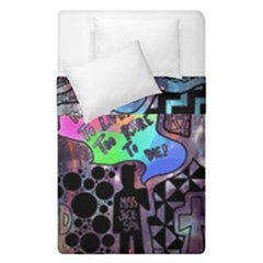 Panic! At The Disco Galaxy Nebula Duvet Cover Double Side (single Size) by Samandel