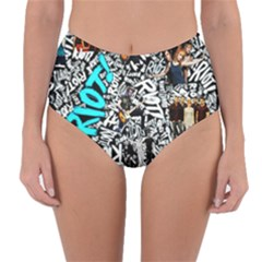 Panic! At The Disco College Reversible High Waist Bikini Bottoms
