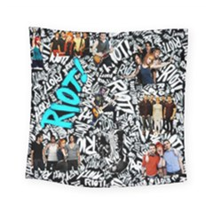Panic! At The Disco College Square Tapestry (small) by Samandel