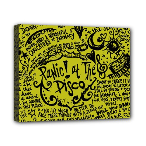 Panic! At The Disco Lyric Quotes Canvas 10  X 8  by Samandel
