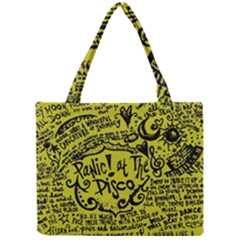 Panic! At The Disco Lyric Quotes Mini Tote Bag by Samandel