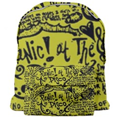 Panic! At The Disco Lyric Quotes Giant Full Print Backpack by Samandel