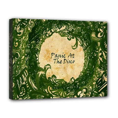 Panic At The Disco Canvas 14  X 11  by Samandel