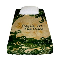Panic At The Disco Fitted Sheet (single Size) by Samandel