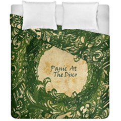 Panic At The Disco Duvet Cover Double Side (california King Size) by Samandel