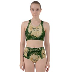 Panic At The Disco Racer Back Bikini Set
