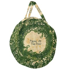 Panic At The Disco Giant Round Zipper Tote
