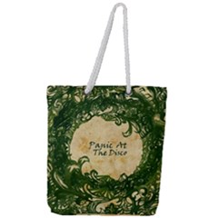 Panic At The Disco Full Print Rope Handle Tote (large) by Samandel