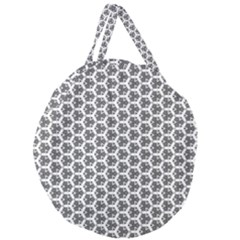 Abstract Shapes Giant Round Zipper Tote by jumpercat