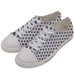 Abstract Pattern Women s Low Top Canvas Sneakers by jumpercat