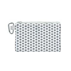Abstract Pattern Canvas Cosmetic Bag (small)
