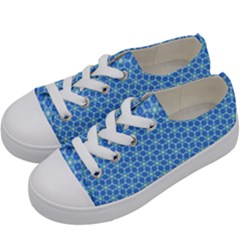 Fresh Tiles Kids  Low Top Canvas Sneakers by jumpercat