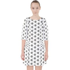 Abstract Pattern 2 Pocket Dress