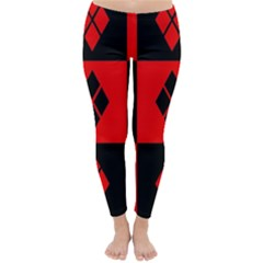 Harley Quinn Pattern Classic Winter Leggings