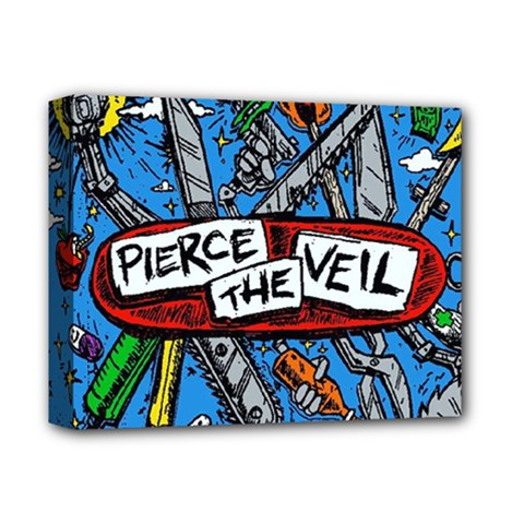 Album Cover Pierce The Veil Misadventures Deluxe Canvas 14  X 11  by Samandel