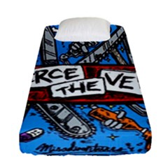 Album Cover Pierce The Veil Misadventures Fitted Sheet (single Size)