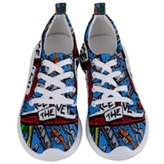 Album Cover Pierce The Veil Misadventures Women s Lightweight Sports Shoes