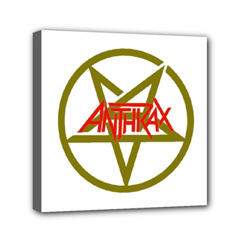 Anthrax Band Logo Canvas Travel Bag