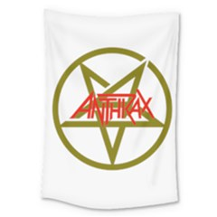 Anthrax Band Logo Large Tapestry by Samandel