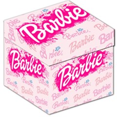 Barbie Pattern Storage Stool 12