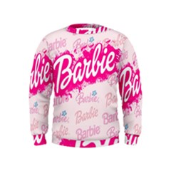 Barbie Pattern Kids  Sweatshirt