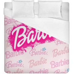Barbie Pattern Duvet Cover (king Size)