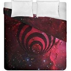 Nectar Galaxy Nebula Duvet Cover Double Side (king Size)