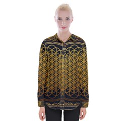 Tree Of Live Pattern Womens Long Sleeve Shirt by Samandel