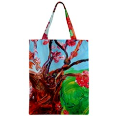 Coral Tree Blooming Zipper Classic Tote Bag by bestdesignintheworld