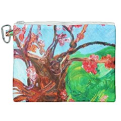 Coral Tree Blooming Canvas Cosmetic Bag (xxl) by bestdesignintheworld