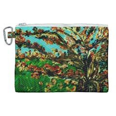 Coral Tree 1 Canvas Cosmetic Bag (xl) by bestdesignintheworld