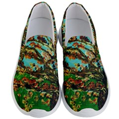 Coral Tree 1 Men s Lightweight Slip Ons by bestdesignintheworld