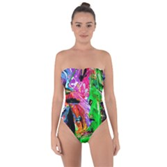 Triplets-1 Tie Back One Piece Swimsuit