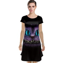 Cheshire Cat Animation Cap Sleeve Nightdress